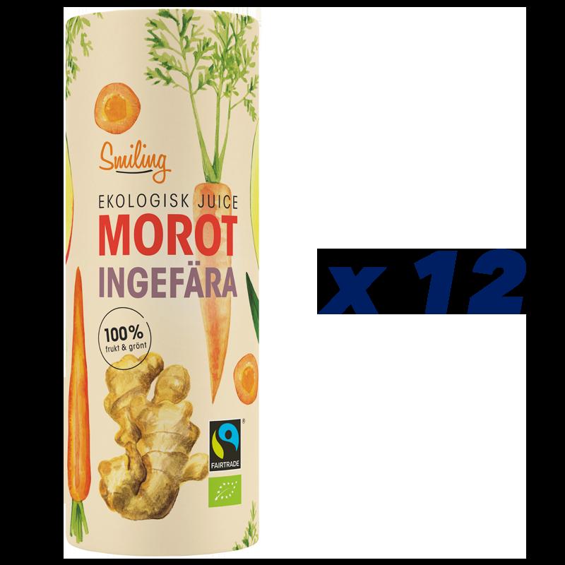 Eko Juice Morot & Ingefära 12-pack - 56% rabatt
