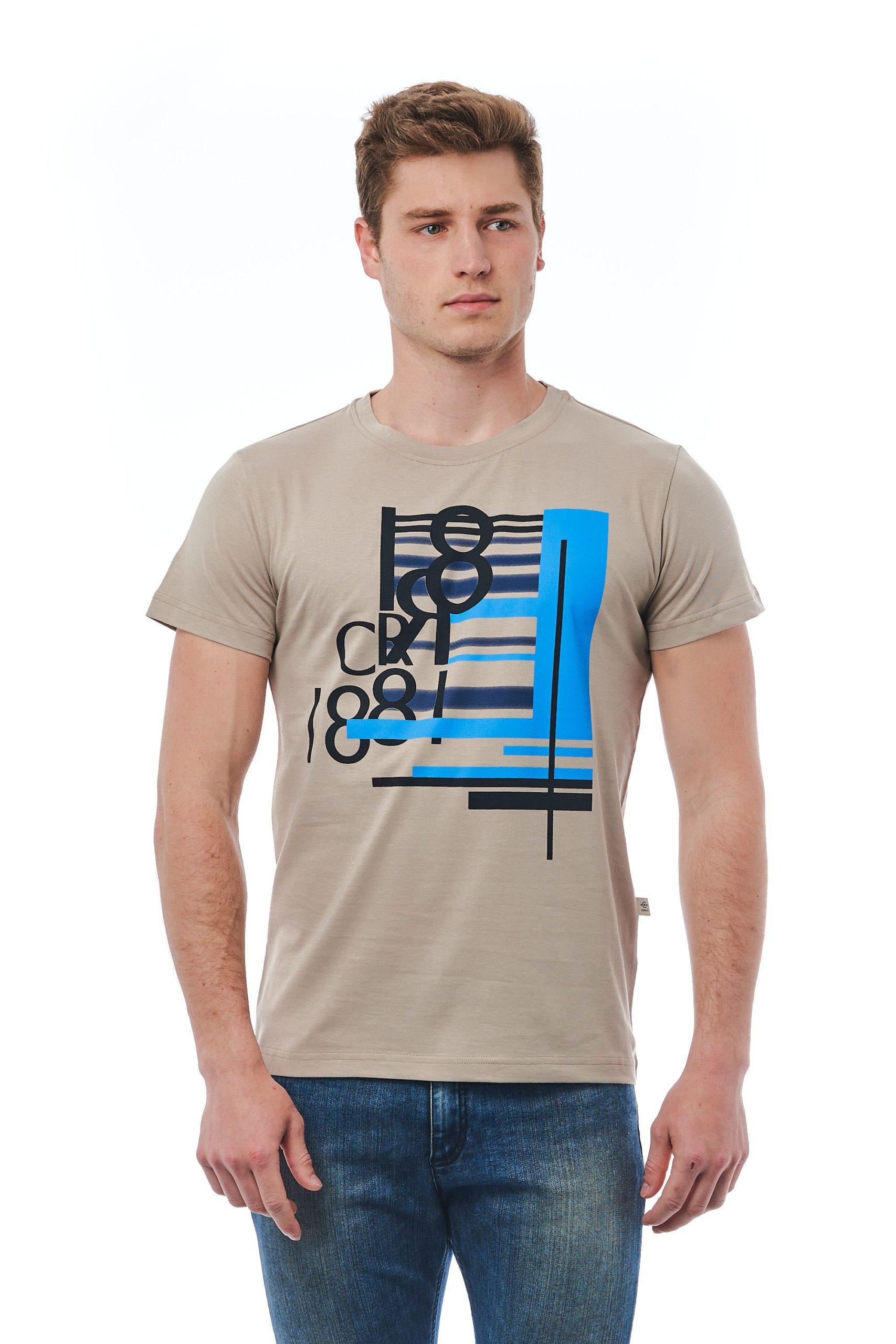 Cerruti 1881 Men's T-Shirt Beige CE1410125 - M