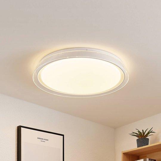 Lindby Sleya LED-taklampe, CCT, dimbar