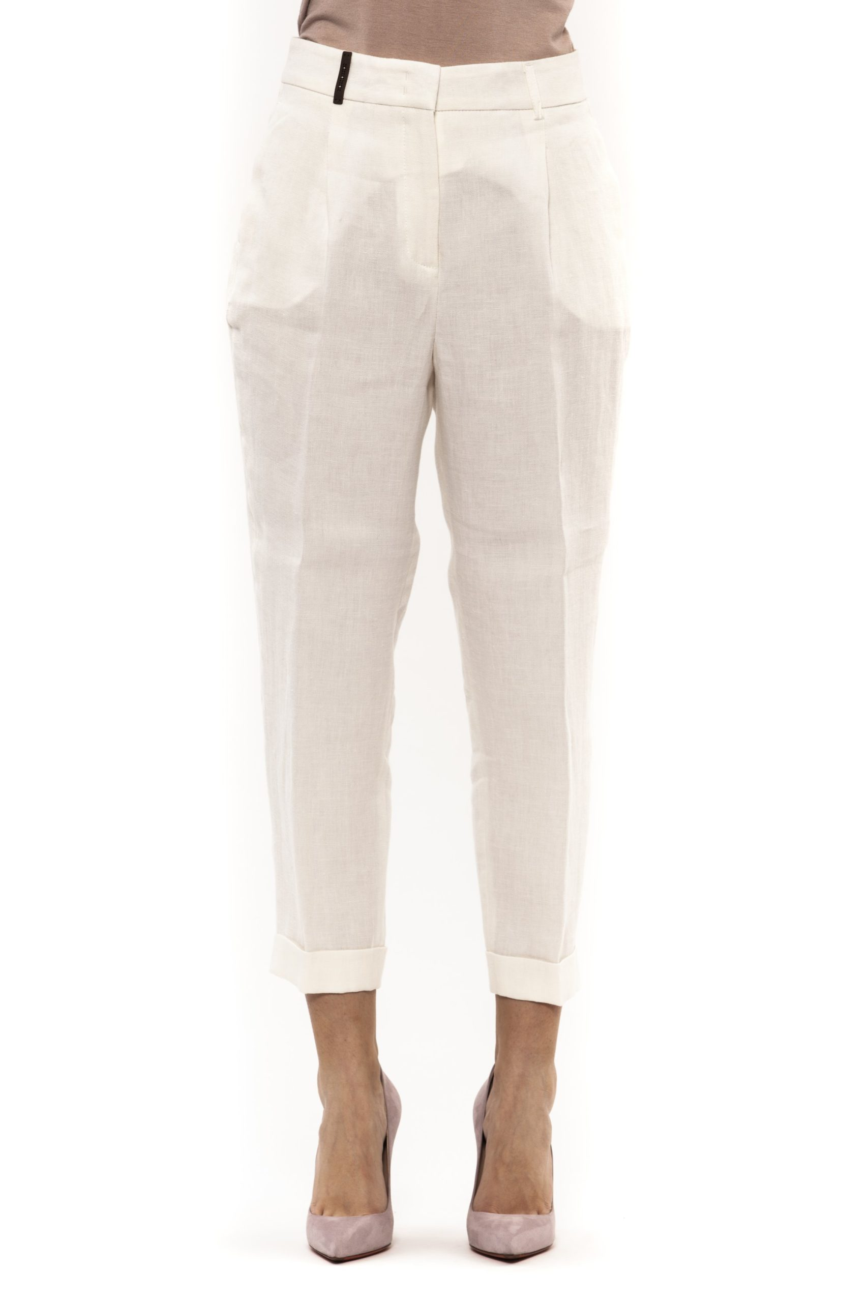 Bianco White Jeans & Pant - IT42 | S