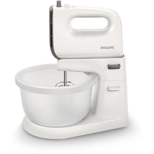 Philips HR3745/00 Elvisp med skål, Grå/vit
