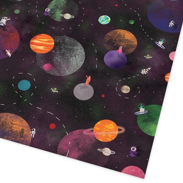 Cosmic Explorer Folded Giftwrap
