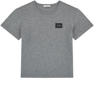 Dolce & Gabbana Plaque Logo T-shirt Grå 2 years