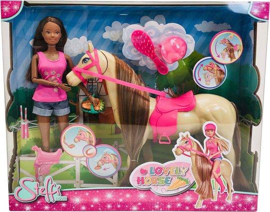 Steffi Love Dukke Med Hest