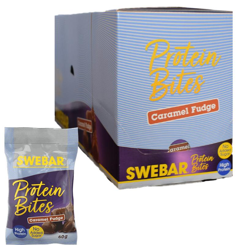 Protein Bites Karamelfudge 12-pack - 66% rabatt