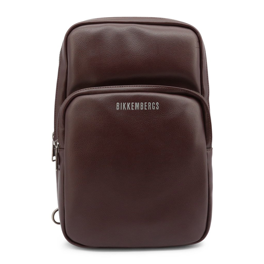 Bikkembergs Men's Crossbody Bag Brown E2APME210032 - brown NOSIZE