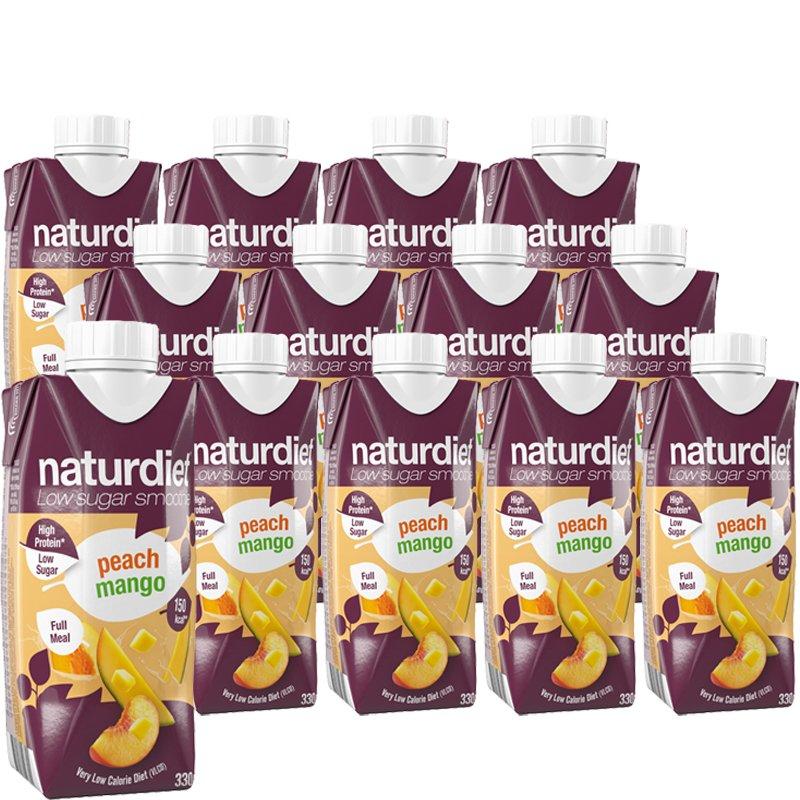 Ateriankorvikkeita Peach Mango 12kpl - 32% alennus