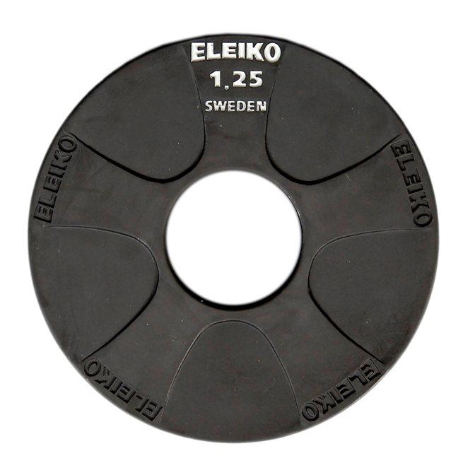 Eleiko Vulcano Disc, Viktskiva Gummerad