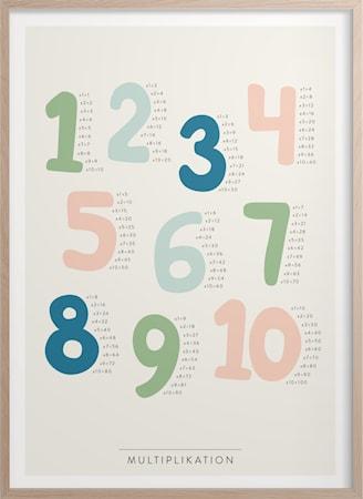 Multiplikation Poster 30x40 cm