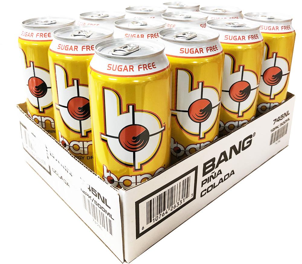 Bang Energy - Pina Colada 50cl x 12st