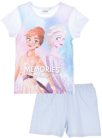 Disney Frozen Pysjamas, White, 5 År