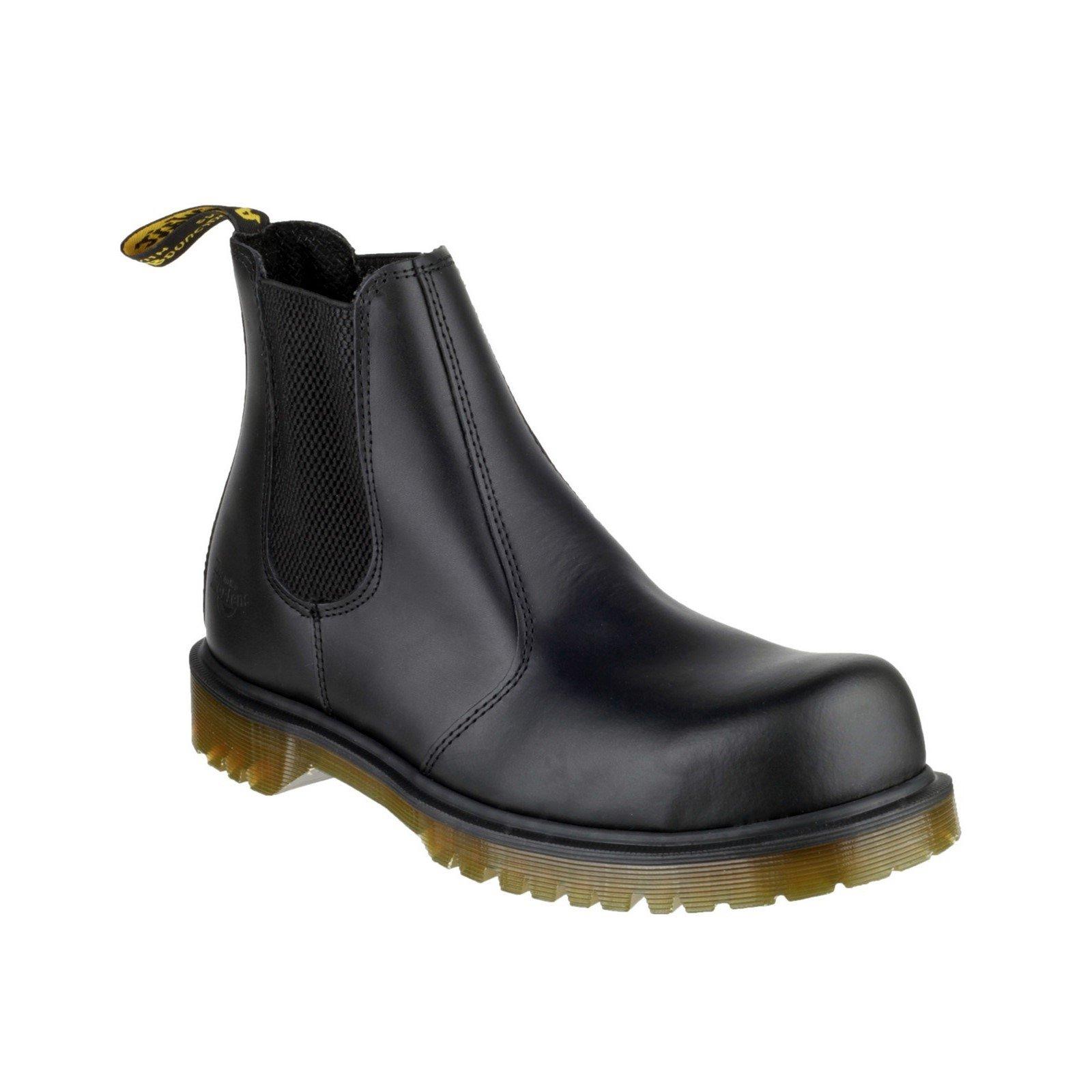 Dr Martens Unisex Dealer Boot Black 00496 - Black 12