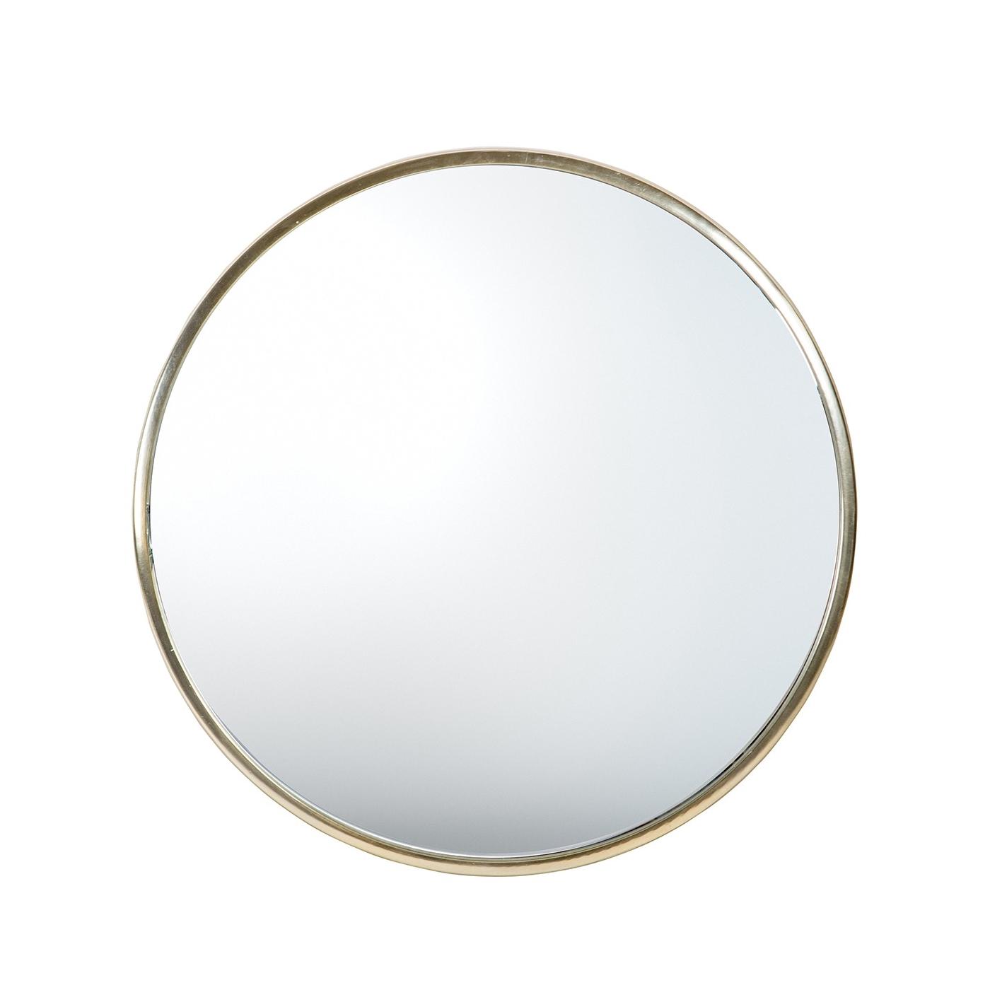 Rund spegel silver CONCETTA , ByON