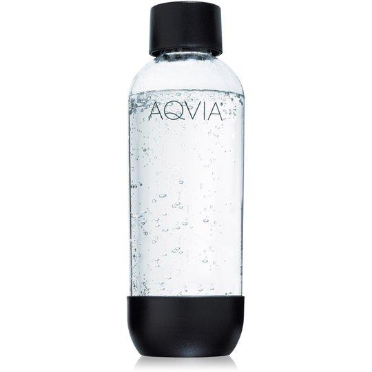 Aqvia Vattenflaska 1 000 ml. Svart