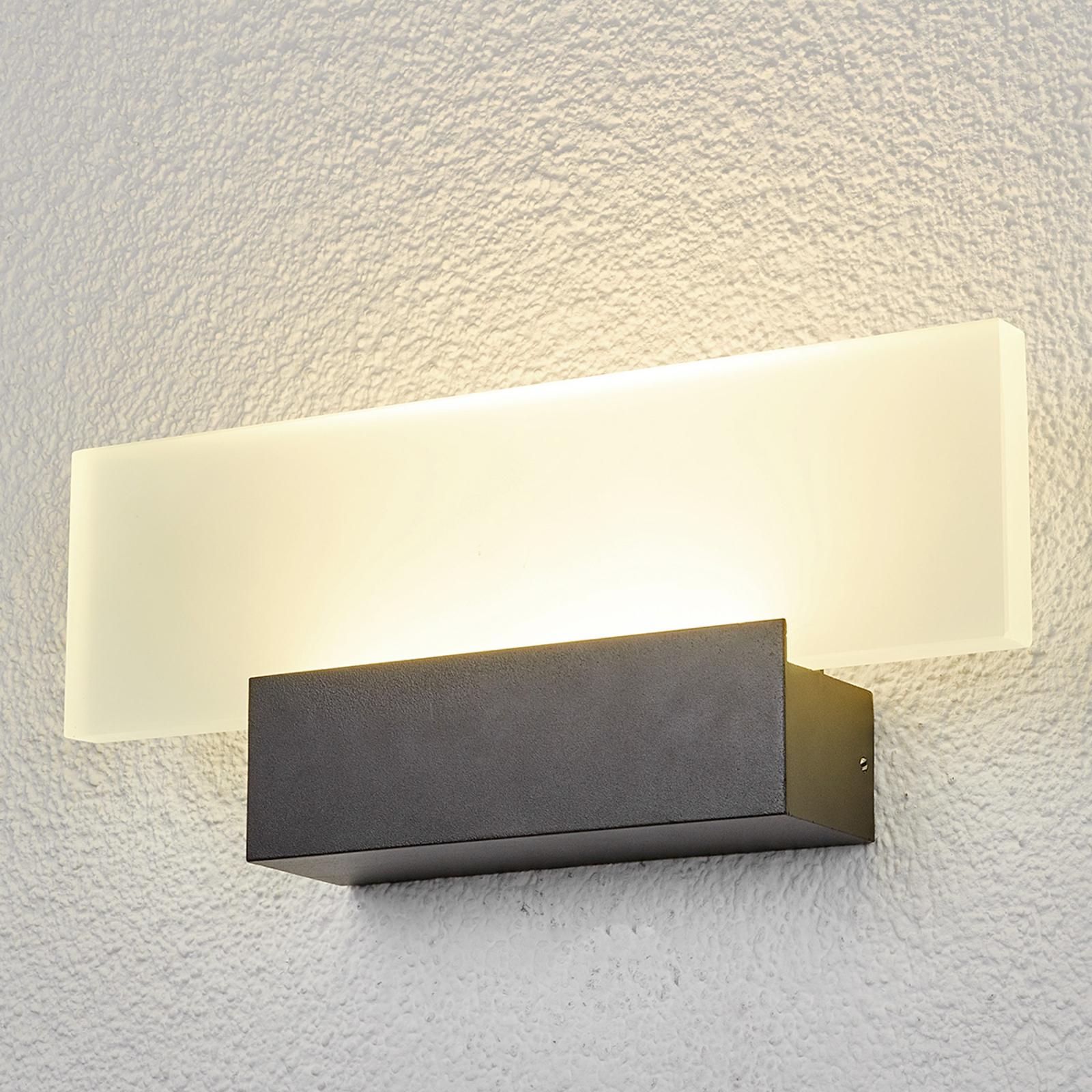 LED-ulkoseinälamppu Rieke