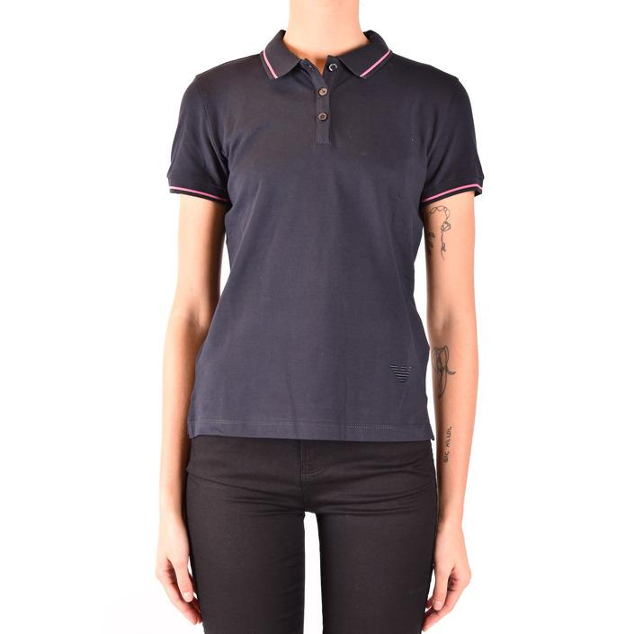 Emporio Armani Women's Polo Shirt Blue 184554 - blue 40