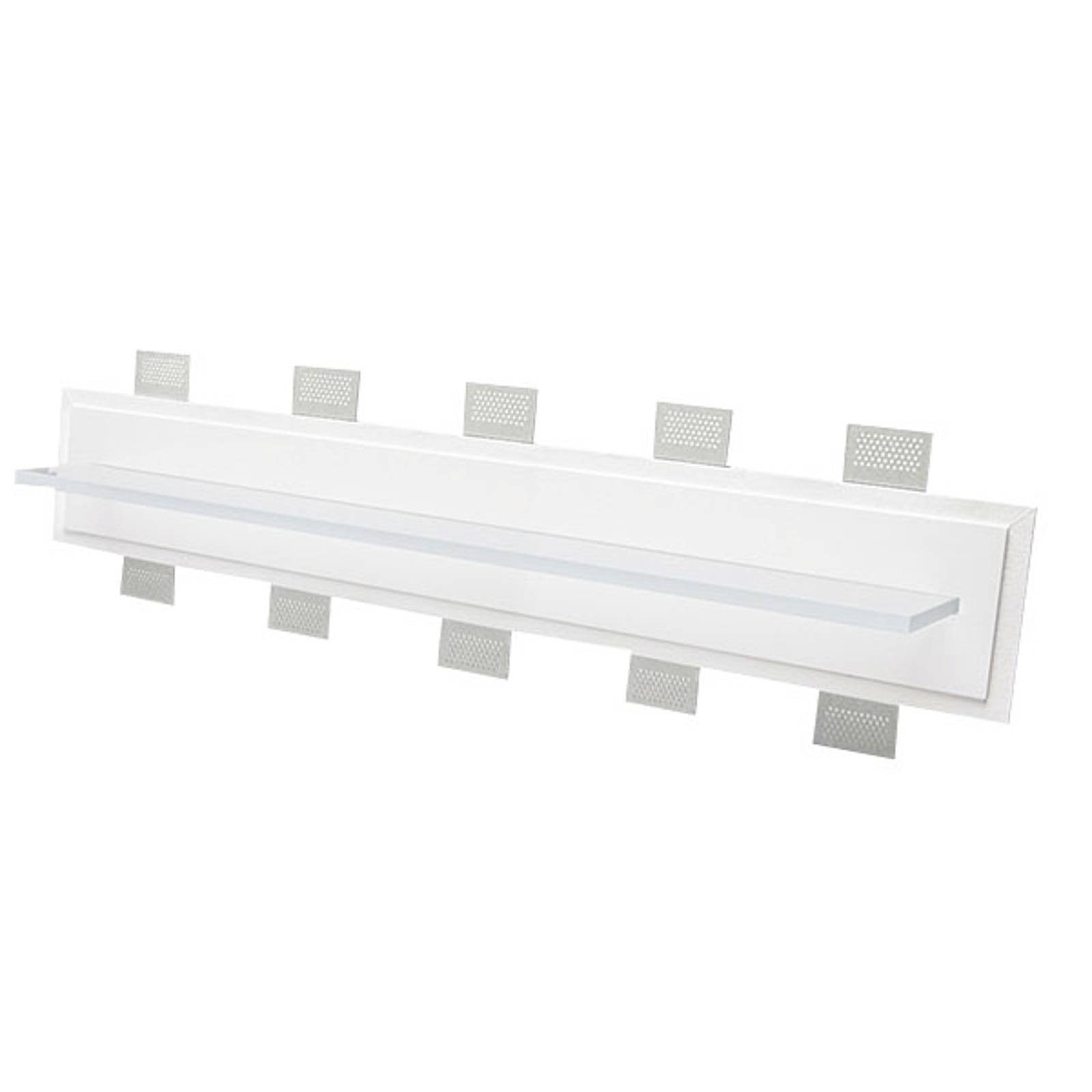 LED-seinäuppovalaisin 2484C, leveys 100 cm 2 700 K