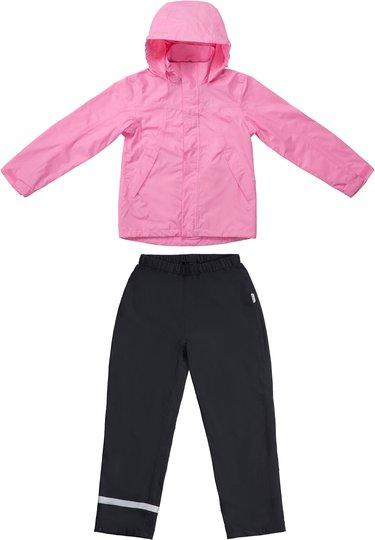 Nordbjørn Arnavik Regnsett, Pink/Black 120