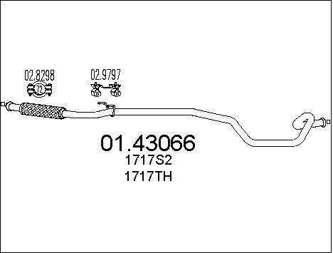 Pakoputki MTS 01.43066