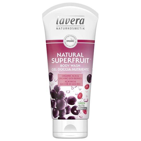 Lavera Natural Superfruit Body Wash, 200 ml