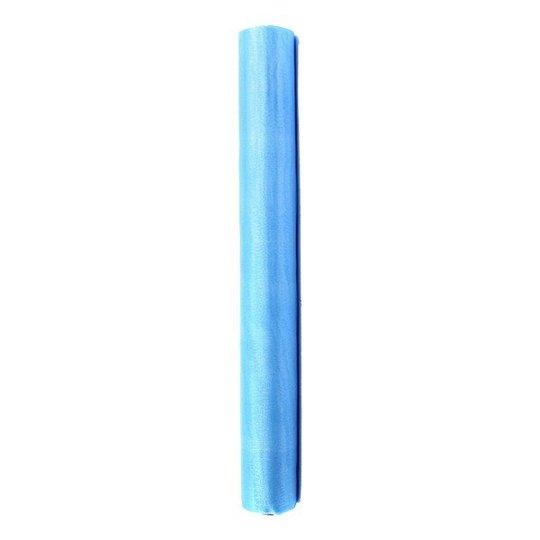 Organzatyg - Himmelsblå