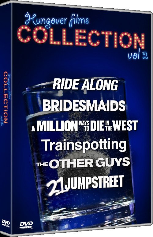 Trainspotting // 21 Jump Street // Bridesmaids // Ride Along // The Other Guys // A Million Ways To Die In The West - DVD