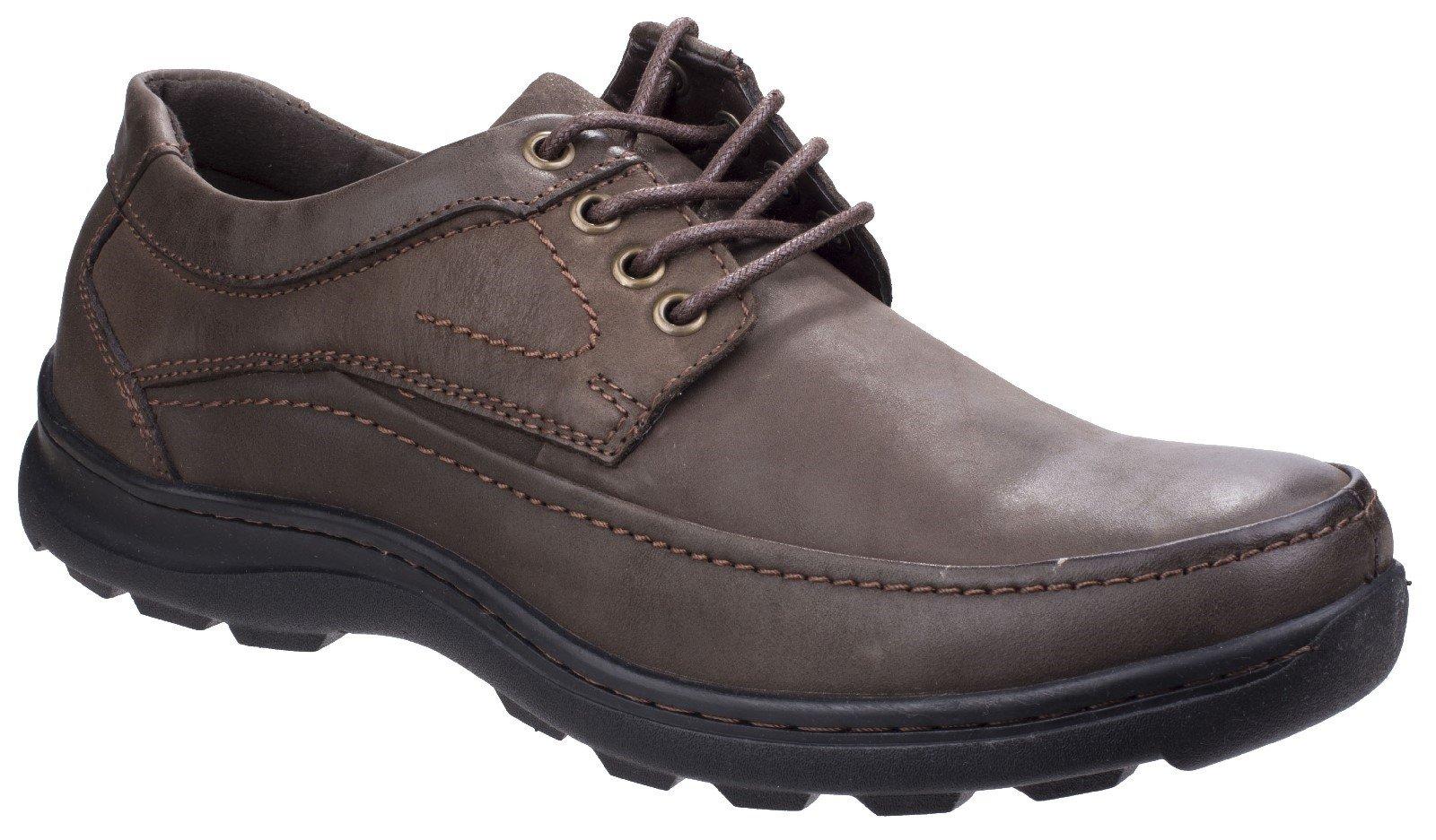 Fleet & Foster Men's Luxor Lace Up Shoe Black 26313-43921 - Brown 7