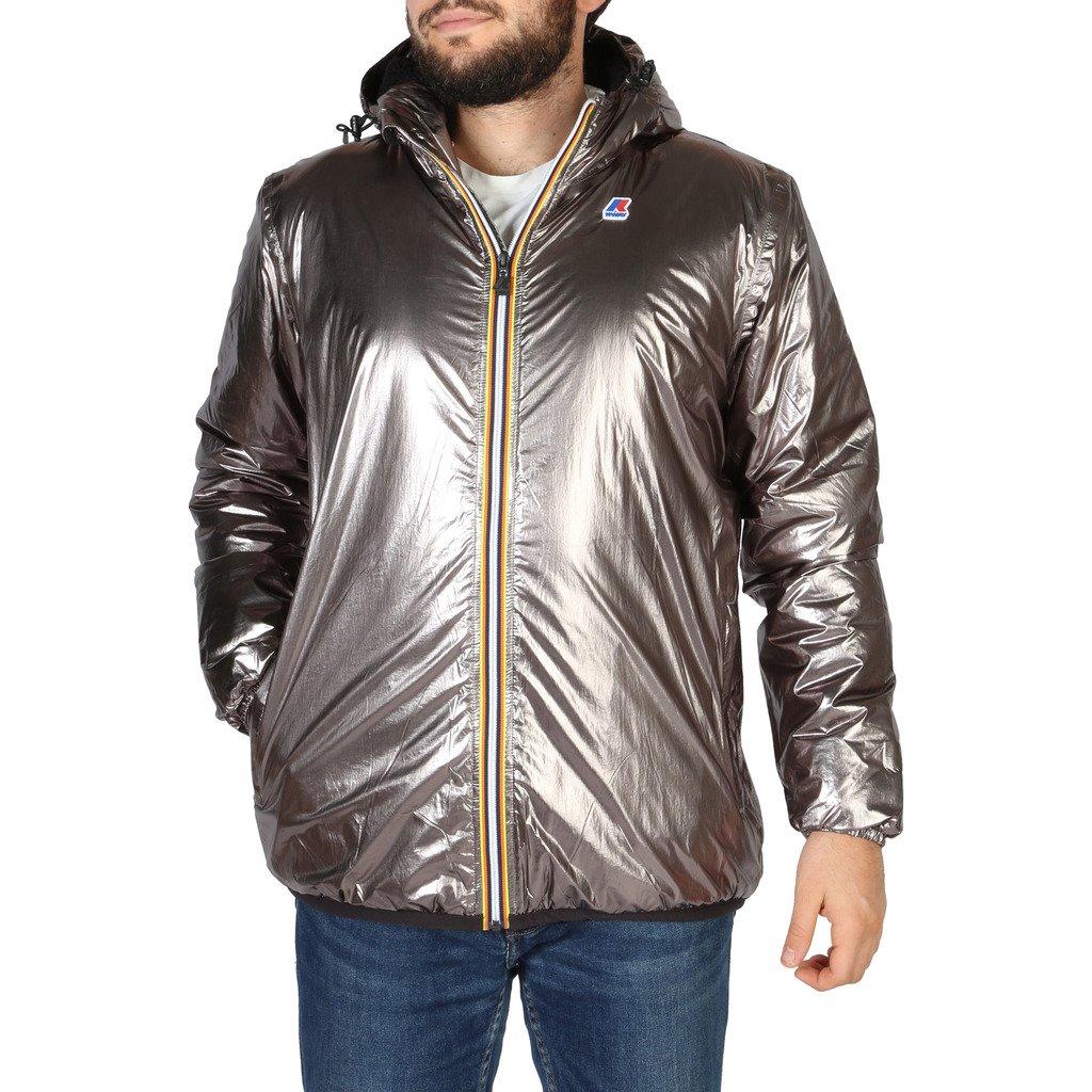 K-Way Men's Jacket Silver K00BR80 - grey L