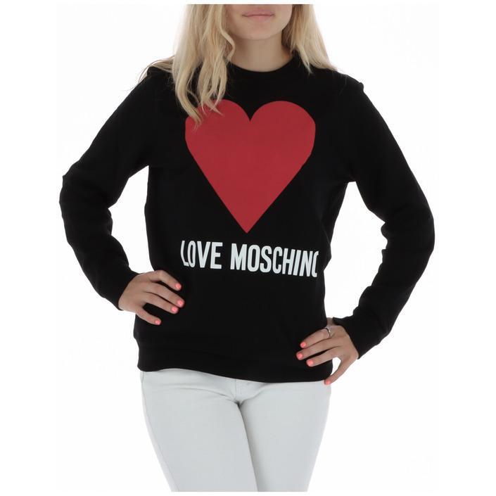 Love Moschino Women's Sweatshirt Black 320515 - black 40
