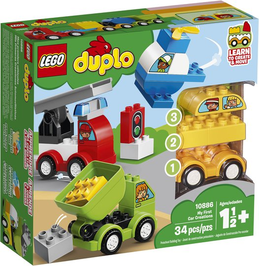 LEGO DUPLO 10886 Mine Første Biler