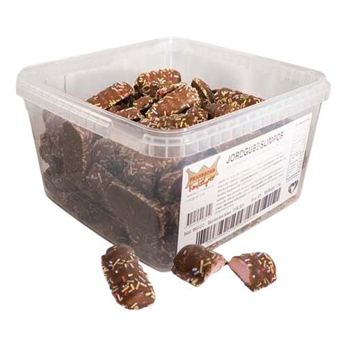 Jordgubbslimpor Lösvikt i Burk - 1.2 kg