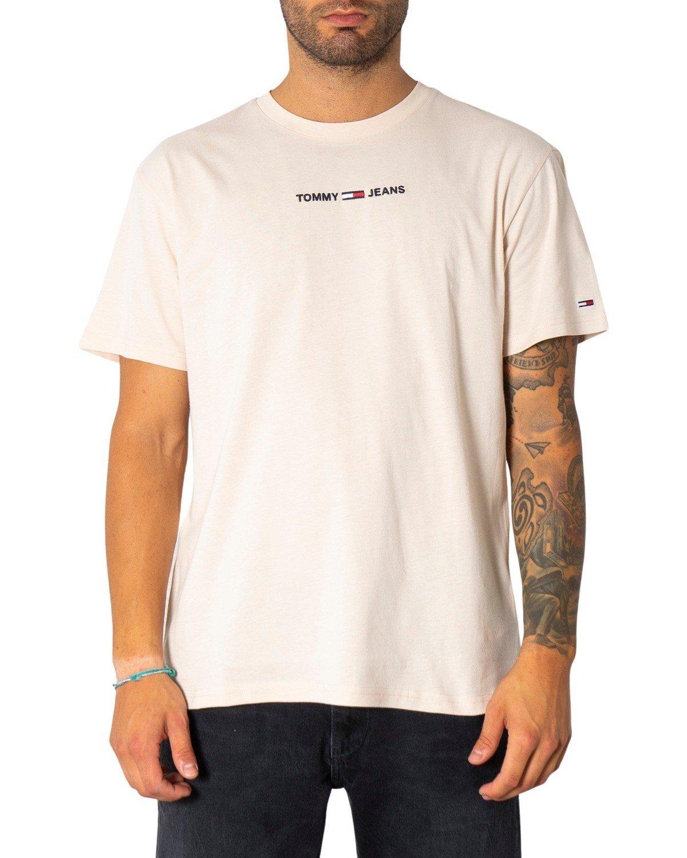 Tommy Hilfiger Jeans Men's T-Shirt Various Colours 299523 - beige S