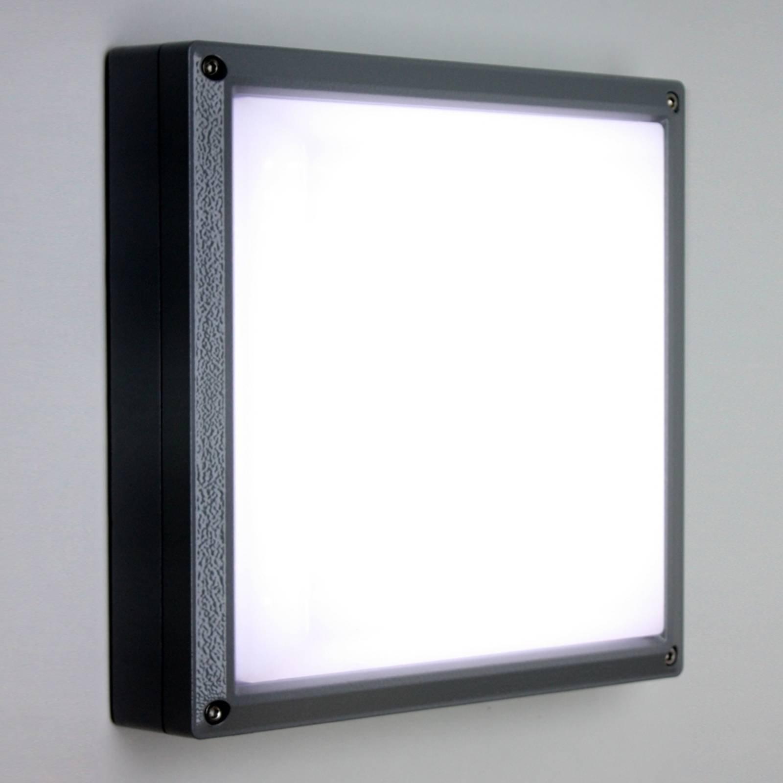 SUN 11 LED-vegglampe i antrasitt med 13 W og 4 K