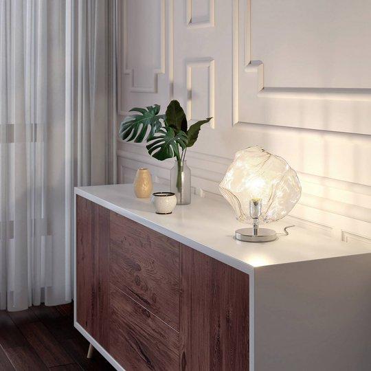 Lucande Valina bordlampe av glass