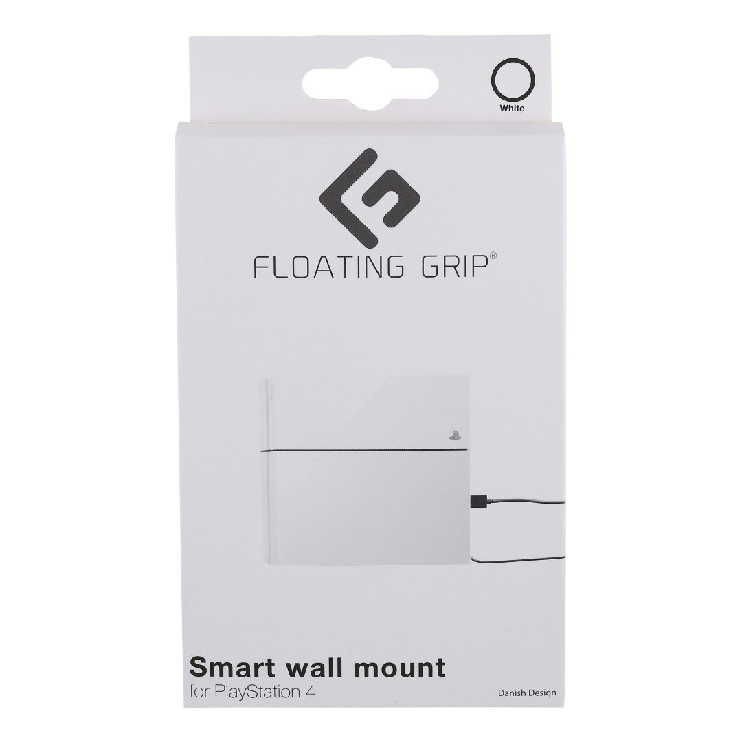 Floating Grip Playstation 4 Wall Mount (White)