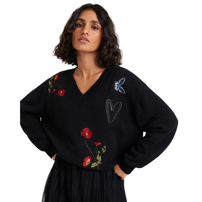 Desigual - Desigual Women Knitwear - black S