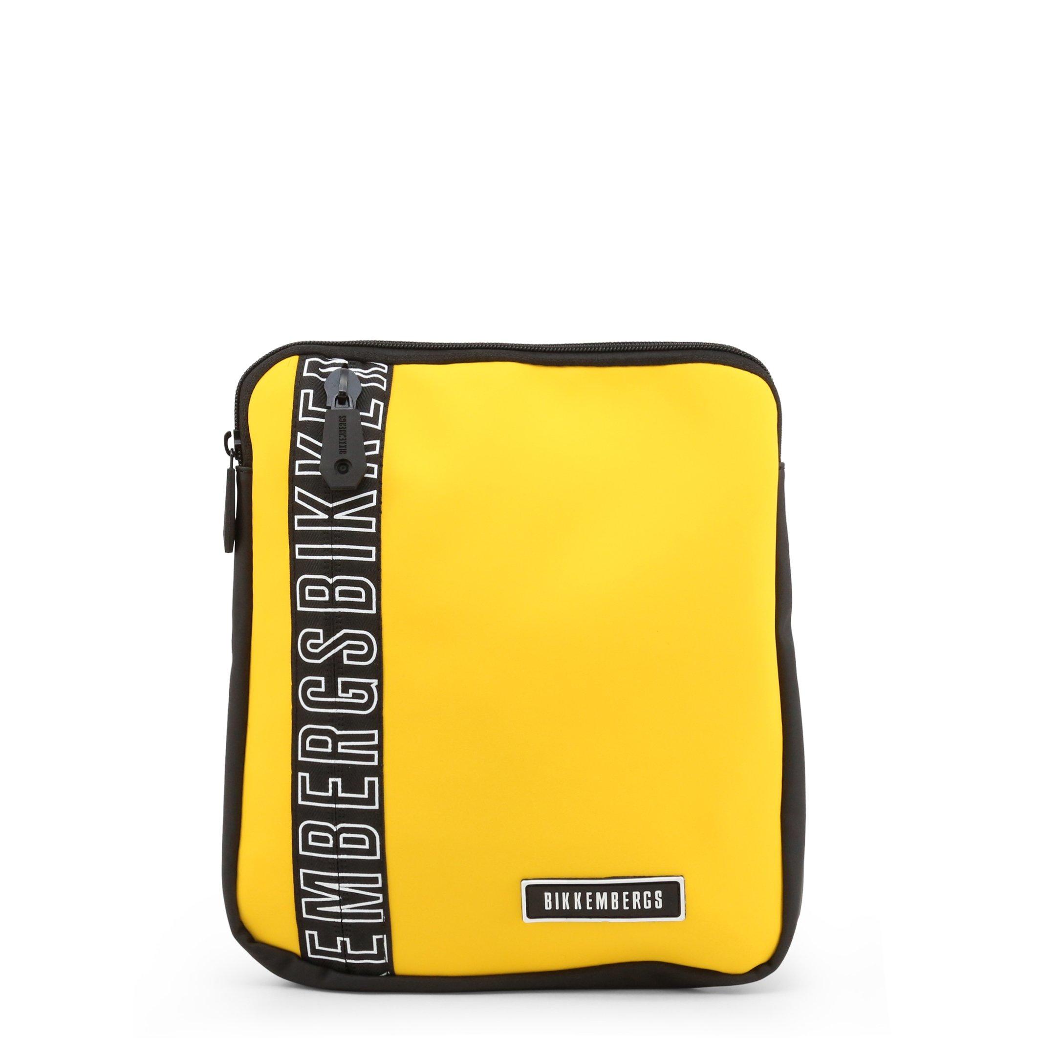 Bikkembergs Men's Crossbody Bag Various Colours E2APME170032 - yellow NOSIZE