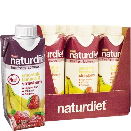 Måltidsersättning Smoothie Banana & Strawberry 12-pack - 31% rabatt