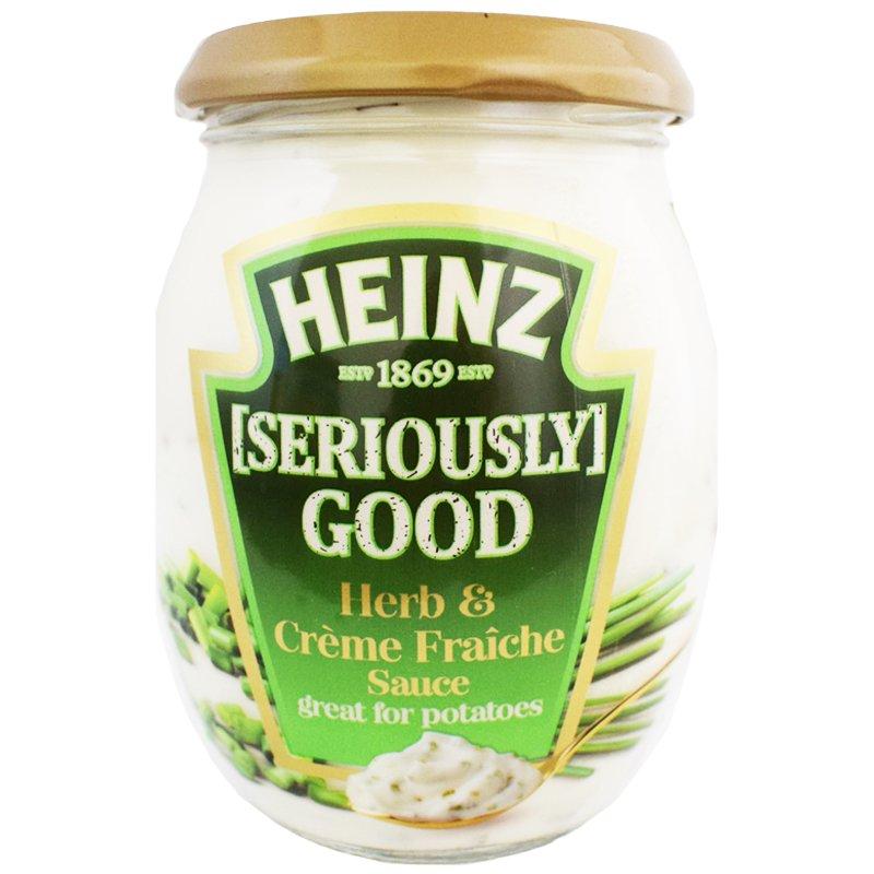 "Sås ""Herb & Creme Fraiche"" 260g - 60% rabatt"