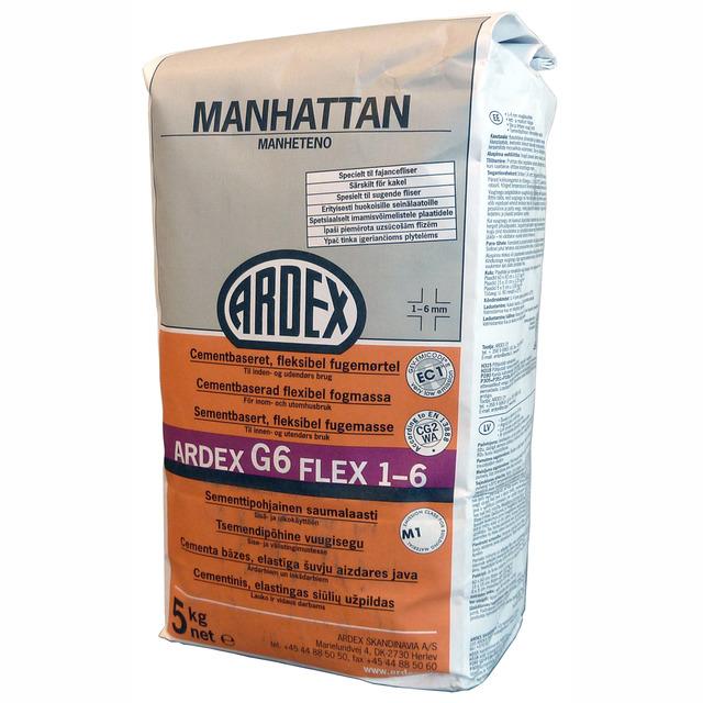 KAKELFOG G6 FLEX MANHATTAN 5KG