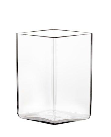 Ruutu vase 115x140 mm klar