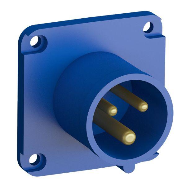 ABB 2CMA102292R1000 Paneelin sisääntulo pikaliitettävä, tärinänkestävä Suora, 3-nastainen, 16 A