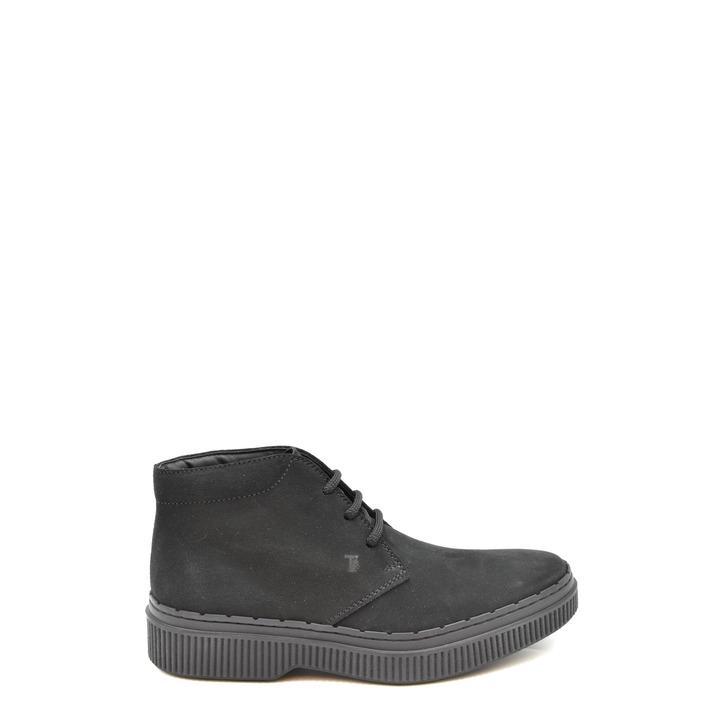 Tod`s Men's Lace up Shoe Black 186101 - black 6.5