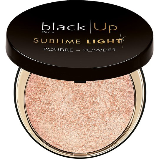 Compact Highlighter Sublime Light, 24 g blackUp Highlighterit