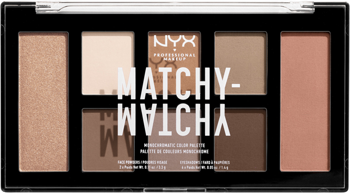 NYX Professional Makeup - Matchy Matchy Monocromatic Palette - Taupe