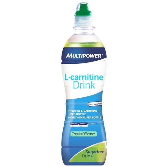 "L-karnitiinijuoma ""Tropical"" 500ml - 67% alennus"