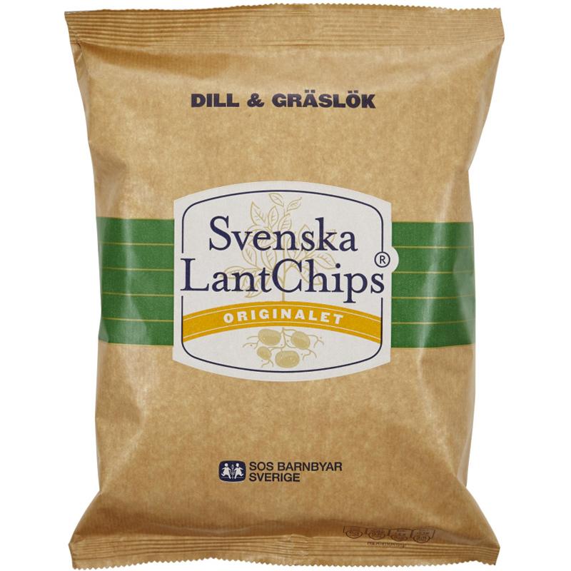 LantChips Dill & Gräslök - 25% rabatt