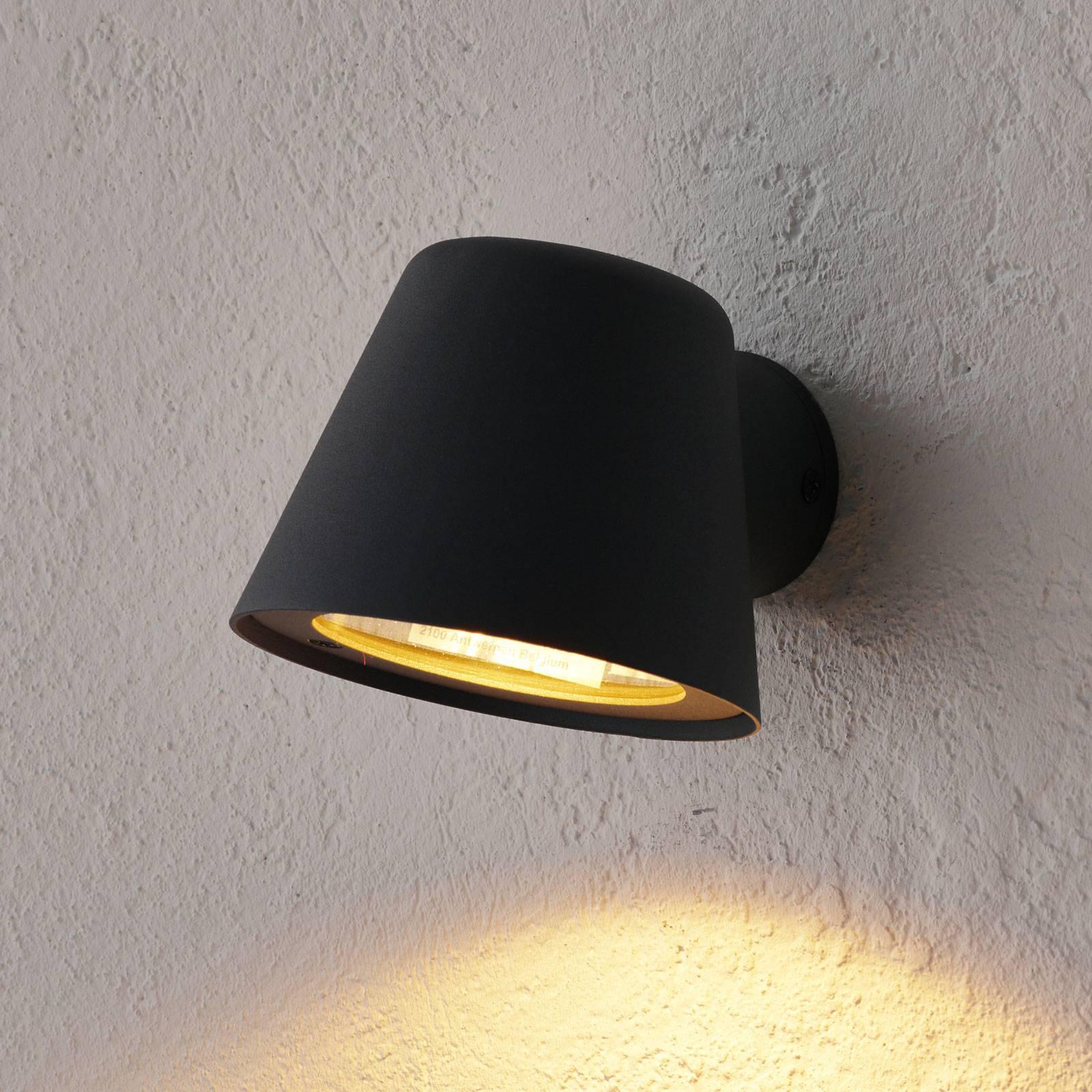 Antrasiitinvärinen Dingo-LED-ulkoseinävalo, GU10