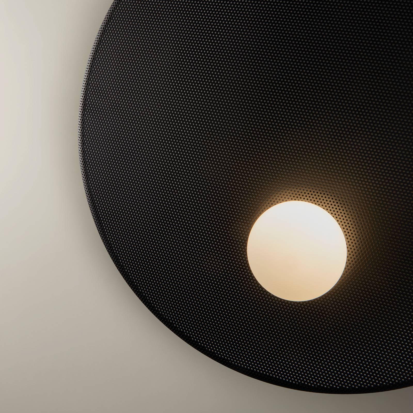 LEDS-C4 Trip -seinälamppu, 3-lamppuinen, musta