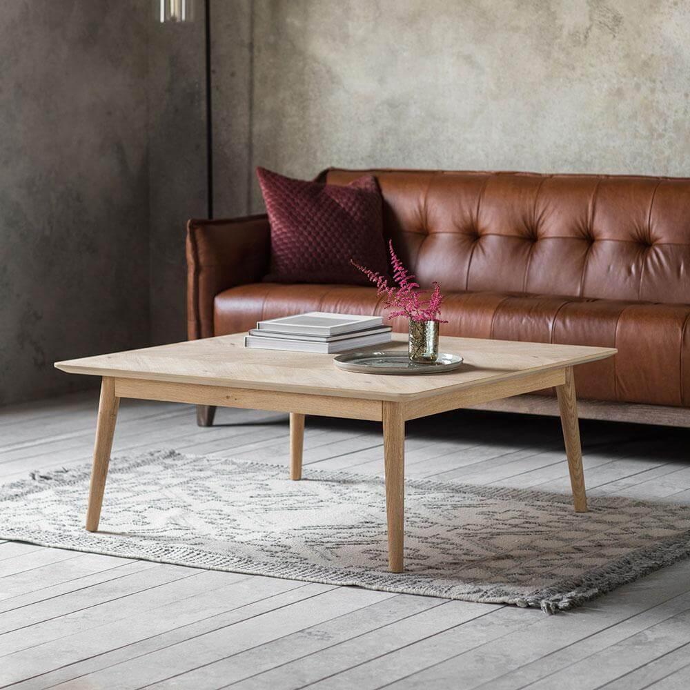 The Modern Light Oak Coffee Table